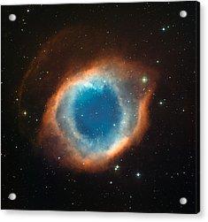 Helix Nebula Acrylic Print by Celestial Images