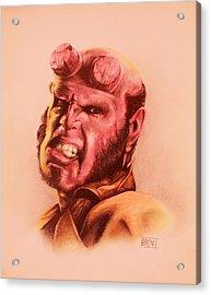 Hellboy Acrylic Print