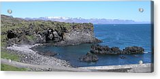 Acrylic Print featuring the photograph Hellnar by Christian Zesewitz