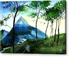 Hello Acrylic Print by Anil Nene