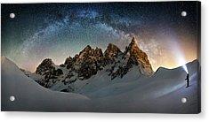 Hello Milky Way Acrylic Print