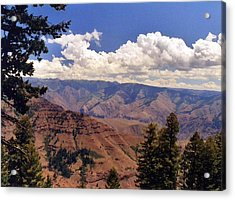 Acrylic Print featuring the photograph Hells Canyon by Debra Kaye McKrill