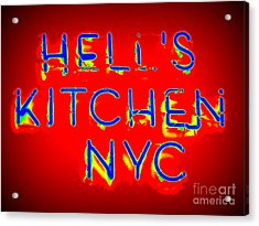 Hell's Kitchen Nyc Acrylic Print