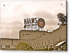 Helms Acrylic Print by Joe  Burns