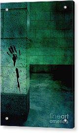 Help Acrylic Print by Margie Hurwich