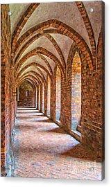 Helsingor Monastery Painting Acrylic Print
