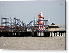 Helter Skelter Acrylic Print by Martin Newman
