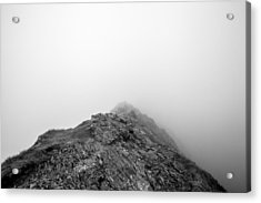 Acrylic Print featuring the digital art Helvellyn by Mike Taylor