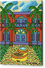 Hemingway House - Key West Acrylic Print