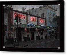 I Heard I Was In Town Acrylic Print by John Stephens