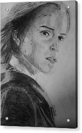 Hemione Granger Acrylic Print by Jaedin Always