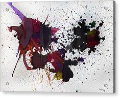 Hemisferio Acrylic Print by Laura Benavides Lara