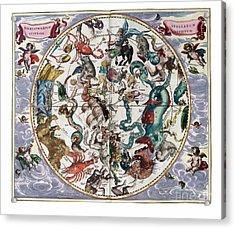Hemispharium Astraule Acrylic Print by Johannes Hevelius