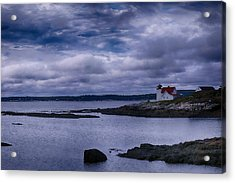 Hendricks Head Light Acrylic Print by Jeff Folger
