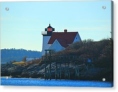 Acrylic Print featuring the photograph Hendricks Head Lighthouse by Amazing Jules
