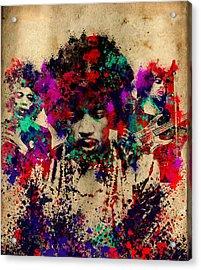 Hendrix 2 Acrylic Print