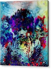 Hendrix 3 Acrylic Print