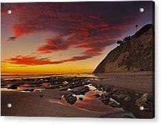 Hendry's Beach  Mg_1327 Acrylic Print by David Orias