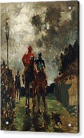 Henri De Toulouse Lautrec Acrylic Print by The Jockeys