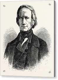 Henry Clay, 1777-1852, He Was A Lawyer, Politician Acrylic Print by English School