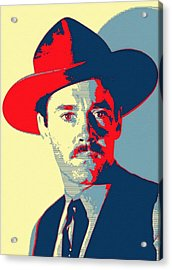Henry Fonda In My Darling Clementine Acrylic Print by Art Cinema Gallery