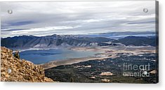 Henry Lake Acrylic Print by Robert Bales