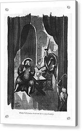 Henry Viii Discloses His Dream Life Acrylic Print
