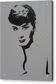 Hepburn Acrylic Print