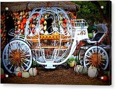 Her Chariot Awaits Acrylic Print by Sherwanda  Irvin