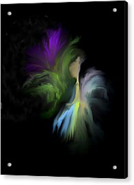 Her Favorite Flower Acrylic Print by Jessica Wright