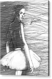 Her Acrylic Print by H James Hoff