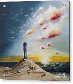 Seascape Art Print By Shawna Erback Acrylic Print