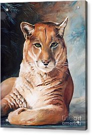 Her Majesty Acrylic Print by Suzanne Schaefer
