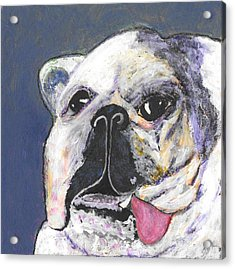 Acrylic Print featuring the digital art Her Name Is Lola by Lisa Noneman
