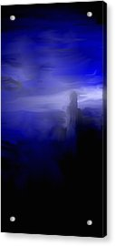 Her Overlook Acrylic Print by Jessica Wright
