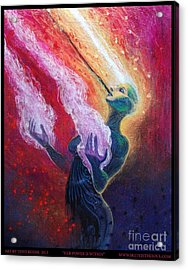 Her Power Is Within Acrylic Print