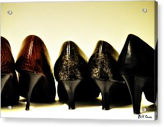 Her Shoes Acrylic Print by Bill Cannon