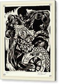 Herbert Bennett, Untitled Frustration, American Acrylic Print