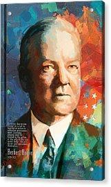 Herbert Hoover Acrylic Print