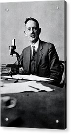 Herbert Jennings Acrylic Print by National Library Of Medicine