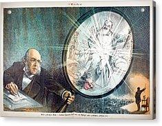 Herbert Spencer's Social Philosophy Acrylic Print by Paul D Stewart