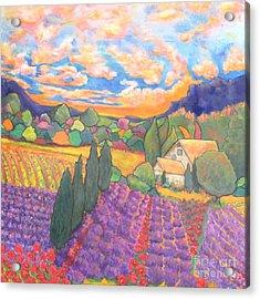 Herbes De Provence  Acrylic Print by Chaline Ouellet