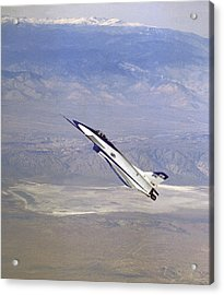 Herbst Manoeuvre By X-31 Aircraft Acrylic Print by Nasa