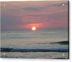 Here Comes The Sun Acrylic Print by Deborah May