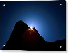 Acrylic Print featuring the photograph Here Comes The Sun by Steven Reed