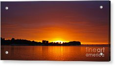 Here Comes The Sun Acrylic Print by Trena Mara