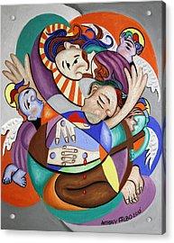 Here My Prayer Acrylic Print by Anthony Falbo