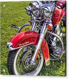 Heritage Softail Acrylic Print by Tim Stanley