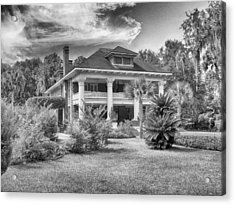 Acrylic Print featuring the photograph Herlong Mansion by Howard Salmon