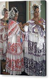 Hermandad De Pollera De Panama Acrylic Print